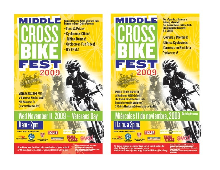 Middle Cross Flyer   English & Spanish