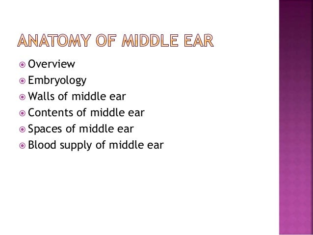 Middle ear by drhit tympanic cavity eustachian tube mastoid air cells ccuart