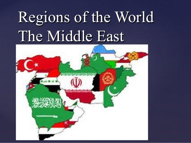 {{ Regions of the WorldRegions of the World The Middle EastThe Middle East