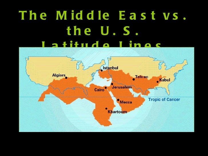 geography of the middle east Facts about arabs and the arab world (adapted from al bustan curriculum) what is the middle east the middle east is a loose term, not always used to.