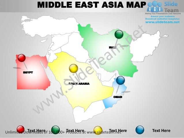 Middle East Asia Powerpoint Editable 28 Images Middle