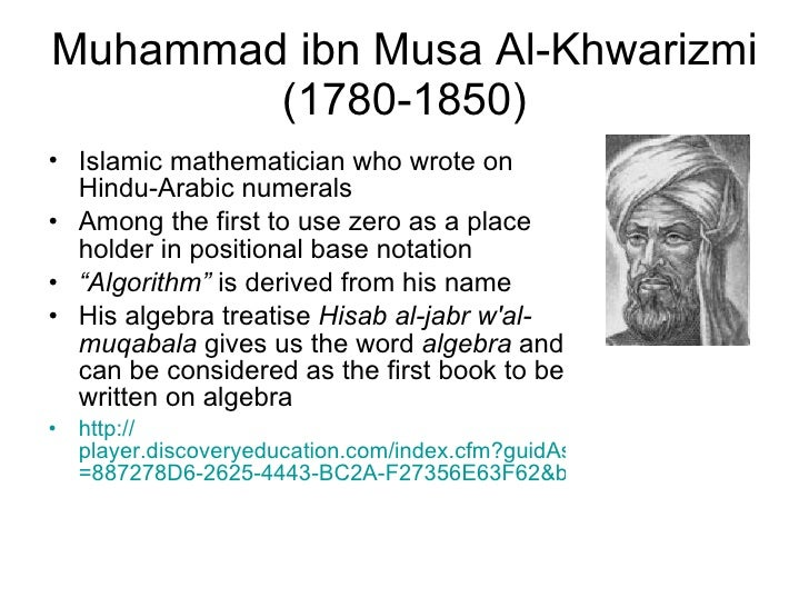 Khwarizmi Muhammad Ibn Musa Quotes Al get the