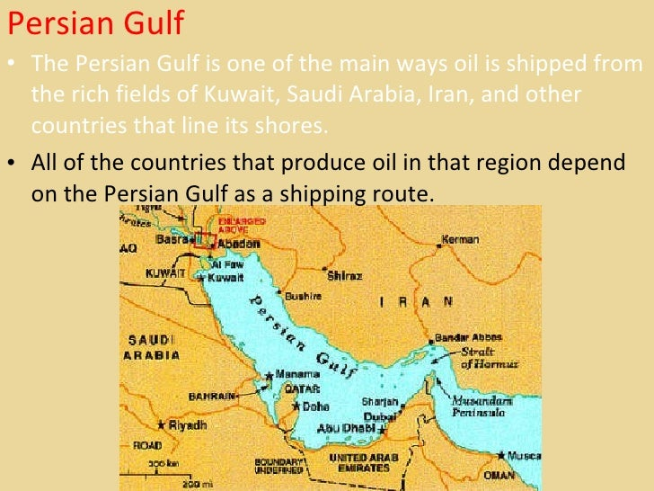 Middle East Map Strait Of Hormuz.Middle East Geography Ppt