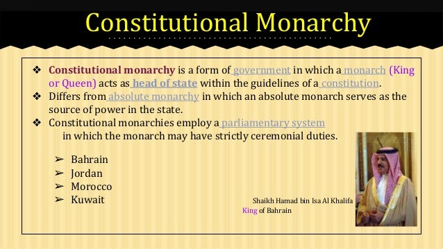 absolute monarchy pros and cons