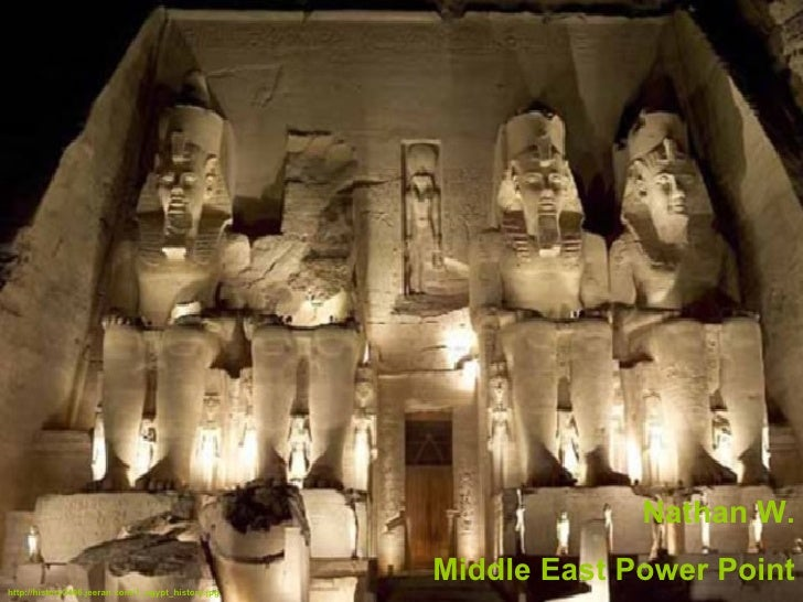 Nathan W. Middle East Power Point http://history2406.jeeran.com/1_egypt_history.jpg