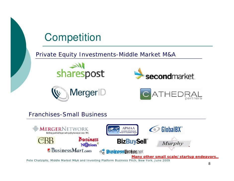 Middle market m a platform business pitch - Middle office private equity ...