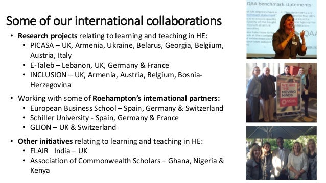 Challenges & opportunities for academic developers working with international collaborative partnerships Slide 2