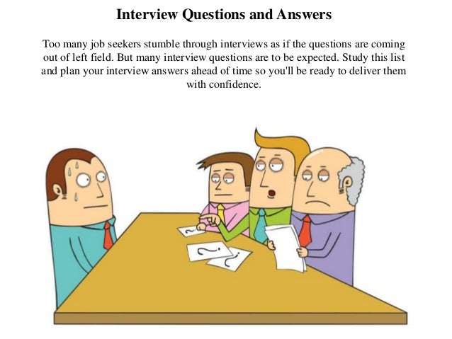Interview Questions And Answers Too Many Job Seekers Stumble Through  Interviews As If The Questions Are ...  Assistant Principal Interview Questions