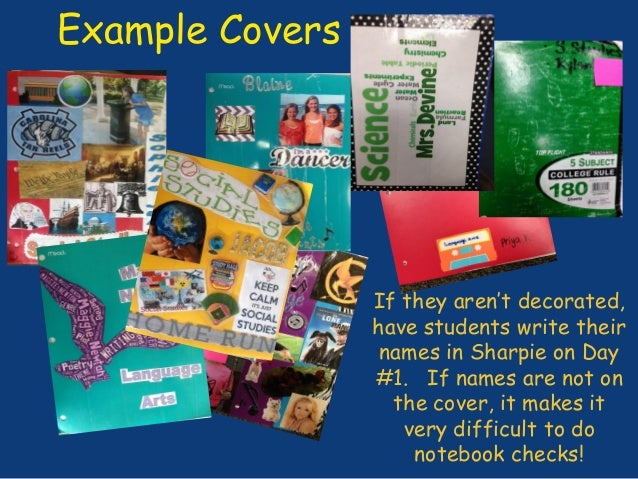 Middle school conference interactive student notebooks