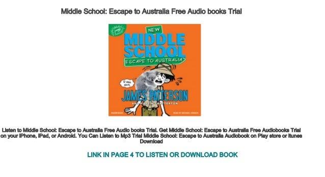 Middle School Escape To Australia Free Audio Books Trial