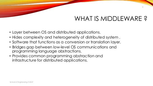 Middleware (distributed applications) - Wikipedia