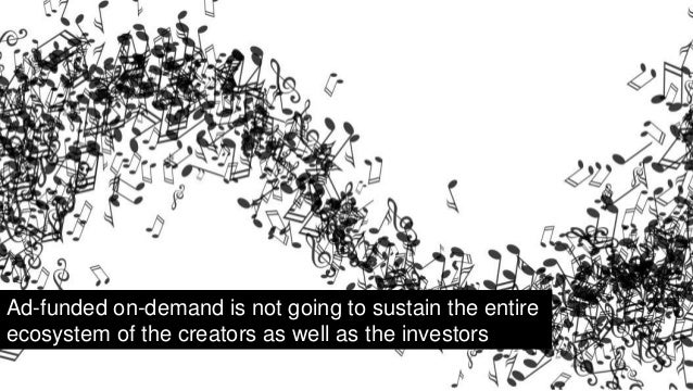 What is the value of music? It's user defined…