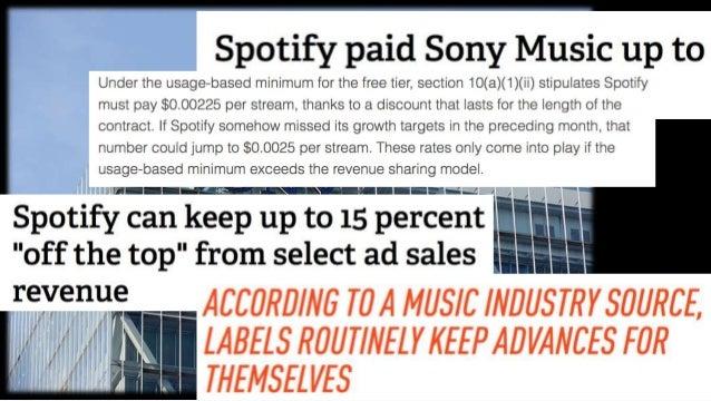 Music Streaming = Mainstreaming