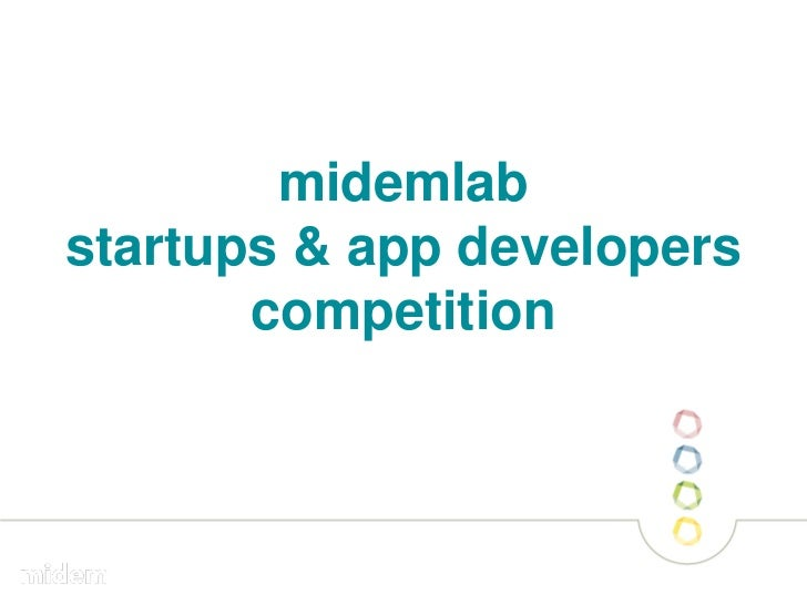 midemlabstartups & app developers       competition