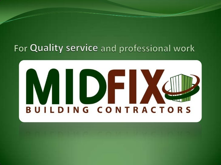 For Quality service and professional work<br />