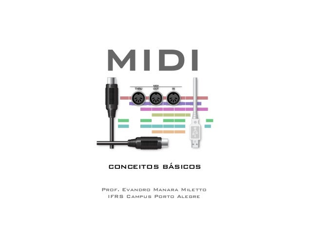 MIDI  conceitos básicos  Prof. Evandro Manara Miletto  IFRS Campus Porto Alegre