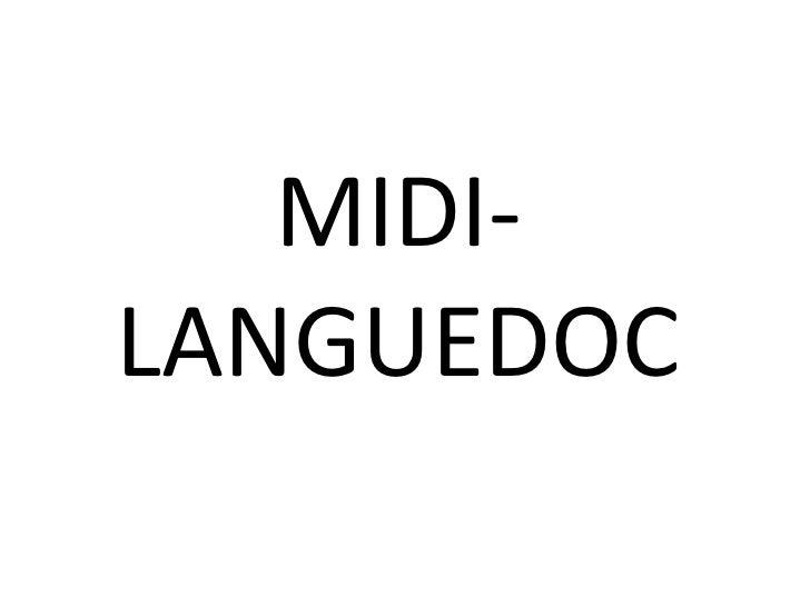 MIDI-LANGUEDOC