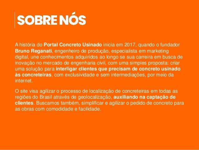 Media Kit 2021 - ConcretoUsinado.com.br Slide 3