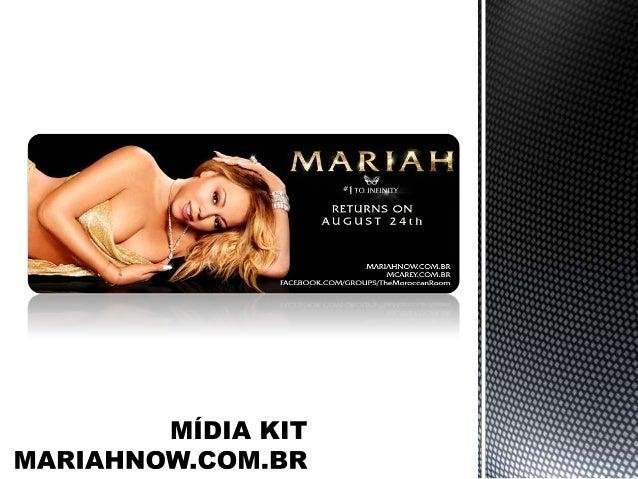O website MariahNow.com.br (ou Mcarey.com.br) surgiu em setembro de 2010 e tem como objetivo de manter informados diariame...