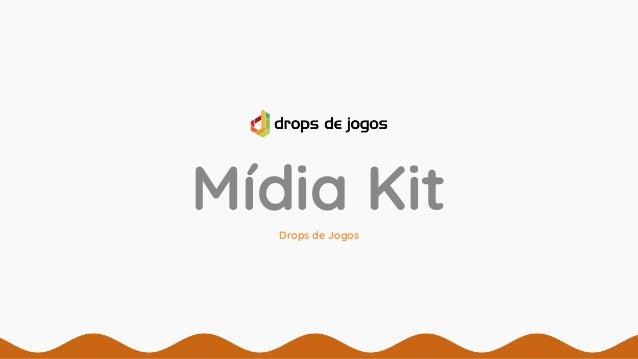 Mídia KitDrops de Jogos