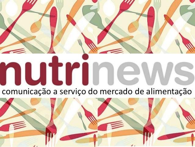 comunicaçãocomunicação a serviço do mercado de alimentação