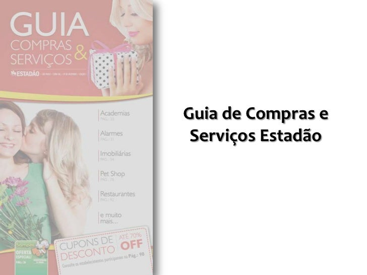 Guia de Compras e Serviços Estadão