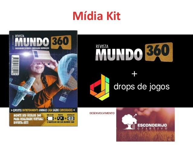 Mídia Kit drops de jogos + DESENVOLVIMENTO