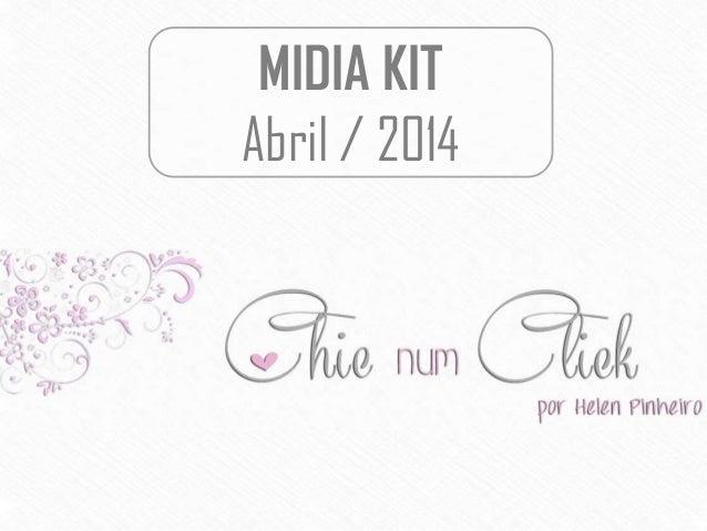 MIDIA KIT Abril / 2014