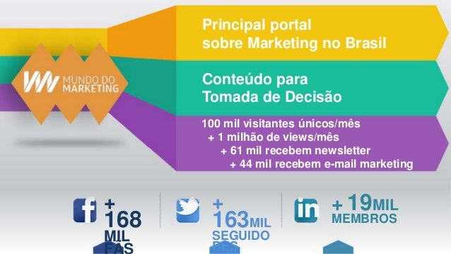 Midia kit Mundo do Marketing 2016 Slide 2