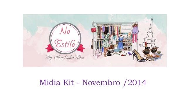 Midia Kit - Novembro /2014