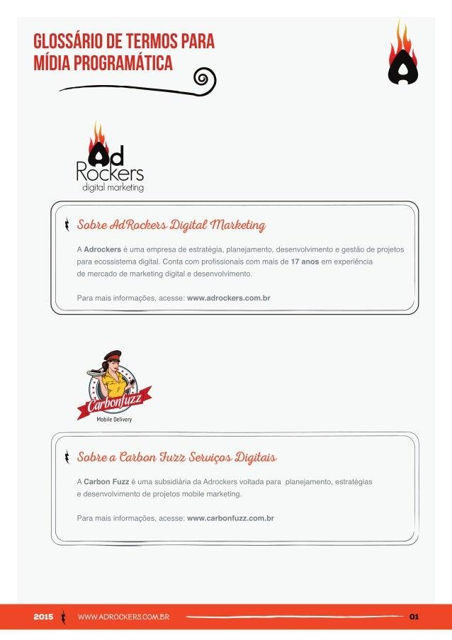 AdRockers Glossário de Mídia Programática Slide 2