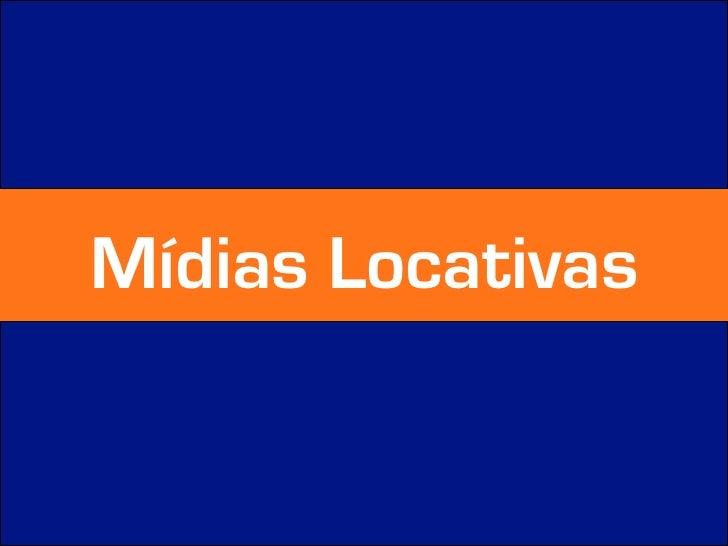 Mídias Locativas