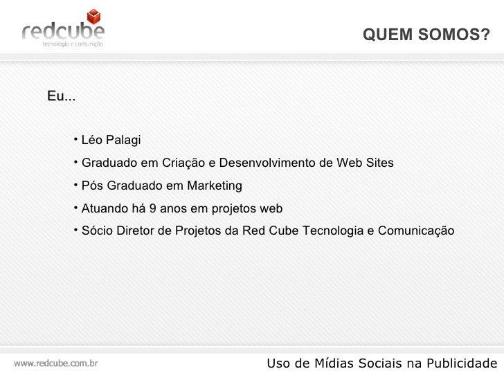 Uso de Mídias Sociais na Publicidade Slide 3