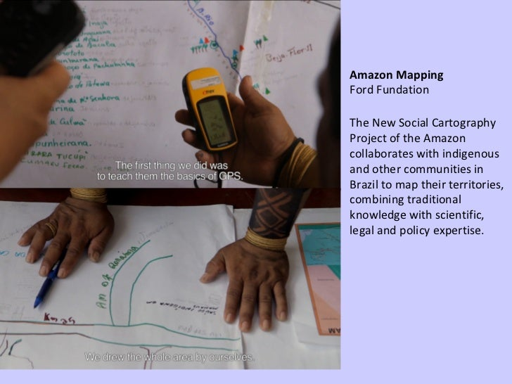 The New Social Cartography Project of the Amazon collaborates with indigenous and other communities in Brazil to map their...