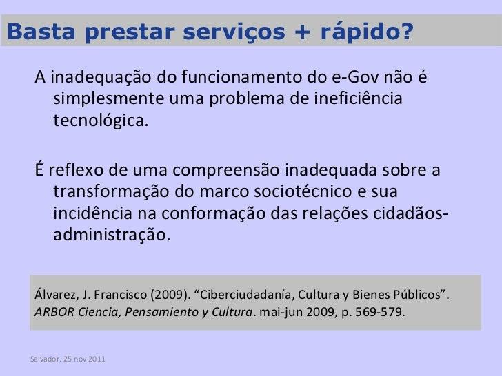 """Álvarez, J. Francisco (2009). """"Ciberciudadanía, Cultura y Bienes Públicos"""".  ARBOR Ciencia, Pensamiento y Cultura . mai-ju..."""