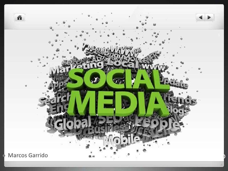 <ul><li>Marcos Garrido </li></ul>