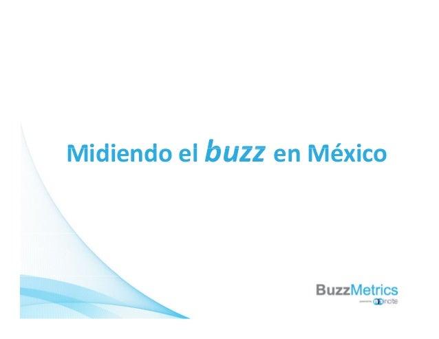 Midi d l buzz Mé iMidiendoelbuzz enMéxico