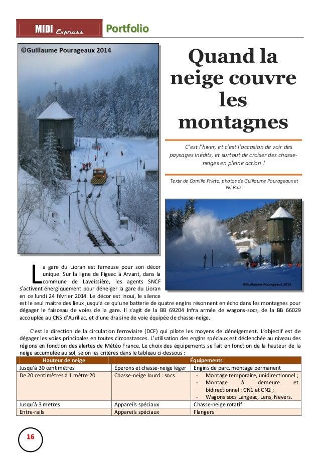 MIIDII Express M D Express  Portfolio  Quand la neige couvre les montagnes C'est l'hiver, et c'est l'occasion de voir des ...