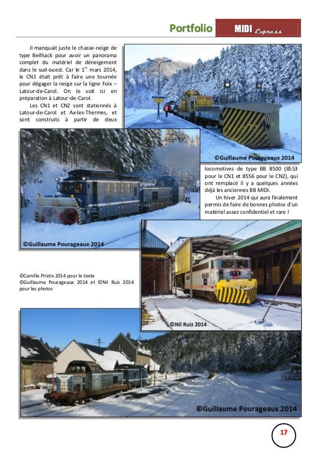 Portfolio  MIIDII Express M D Express  Il manquait juste le chasse-neige de type Beilhack pour avoir un panorama complet d...