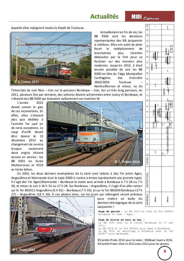 Actualités  MIIDII Express M D Express  laquelle elles rejoignent toutes le dépôt de Toulouse. Actuellement en fin de vie,...