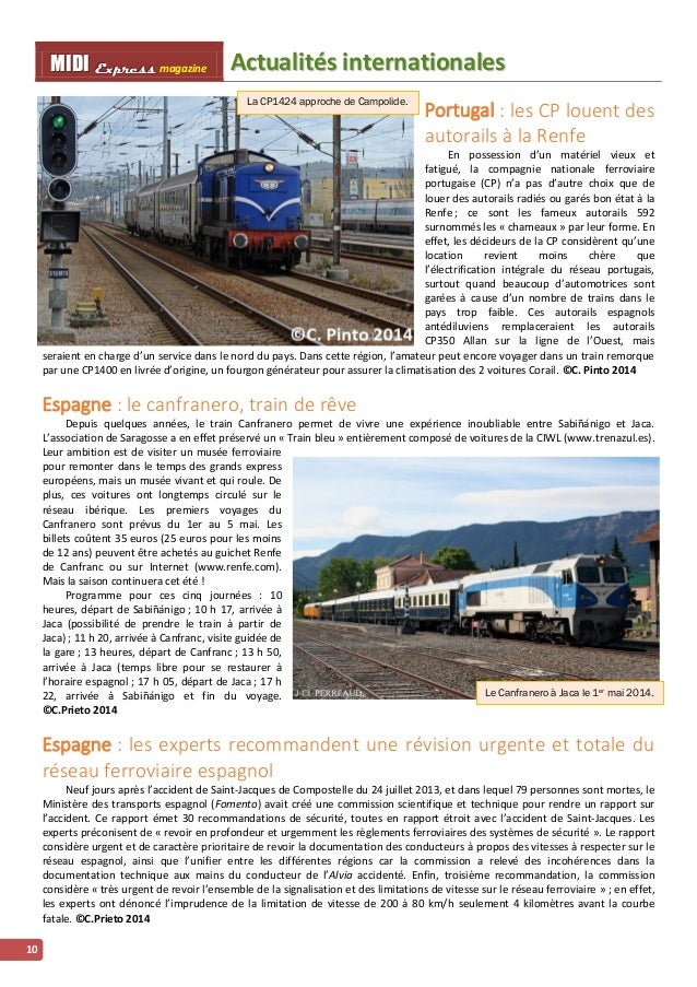 FFiinn ddee ppaarrttiiee MMMIIIDDDIII EEExxxppprrreeessssss magazine 11 Albi – Rodez en train de nuit : une parenthèse de ...
