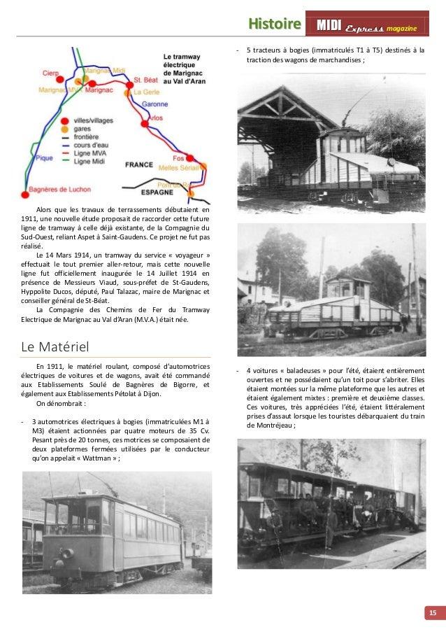 MMMIIIDDDIII EEExxxppprrreeessssss magazine HHiissttooiirree 16 - 10 wagons couverts n° 301 à 310 ; - 2 fourgons à bagages...