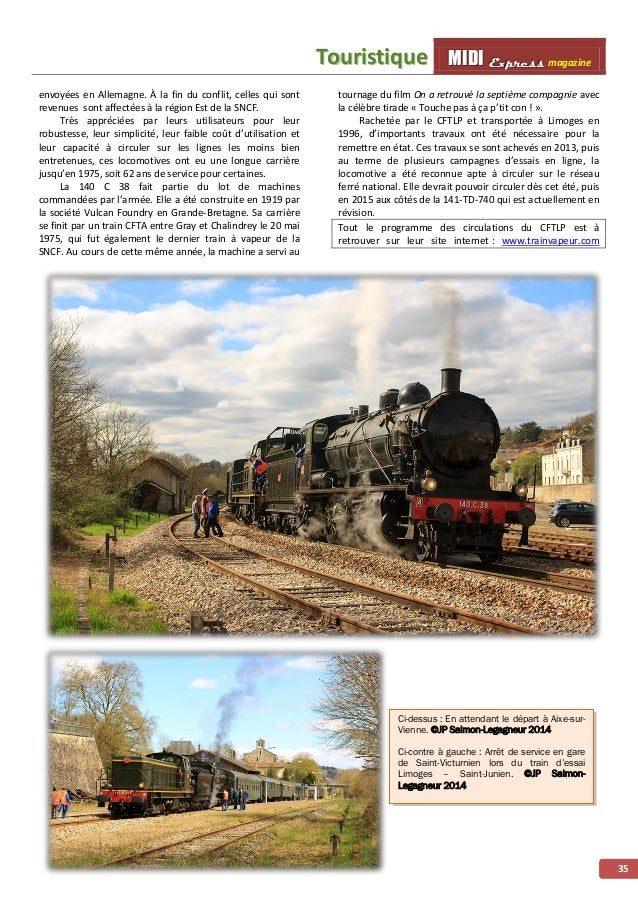 MMMIIIDDDIII EEExxxppprrreeessssss magazine ÉÉvvéénneemmeenntt 36 Trois jours avec la CC6570 dans le Sud-Ouest À l'occasio...