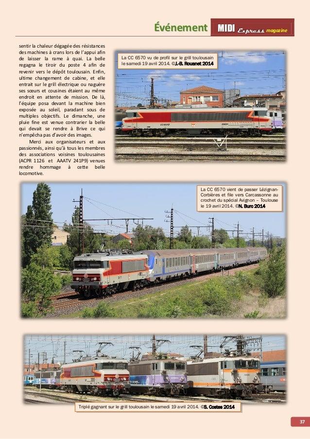 MMMIIIDDDIII EEExxxppprrreeessssss magazine ÉÉvvéénneemmeenntt 38 Après le départ de Souillac, le train franchit l'ancienn...