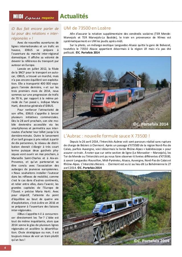 AAccttuuaalliittééss MMMIIIDDDIII EEExxxppprrreeessssss magazine 5 Circulation spéciale sur Carcassonne - Limoux Le dimanc...