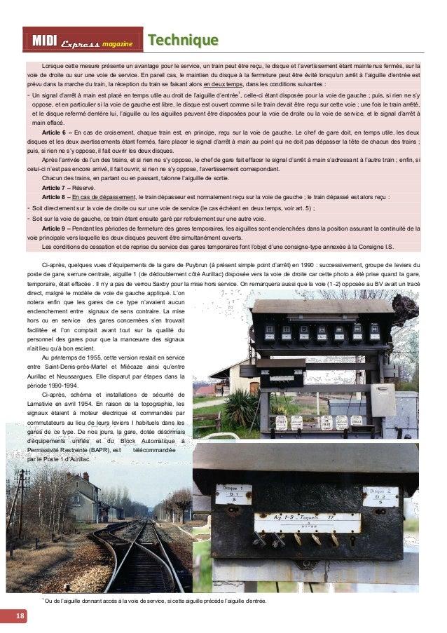 MMI IIDDI II EEx xxpppr rre ees sss ss magazine Techniique  18  Lorsque cette mesure présente un avantage pour le service,...