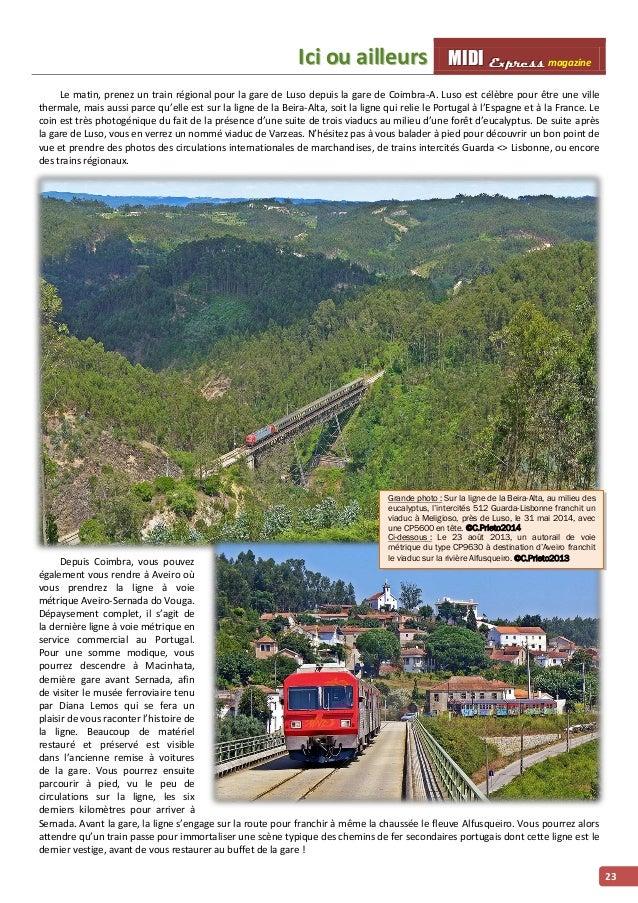 IIcii ou aiilllleurs MMI IIDDI II EEx xxp ppr rre ees sss ss magazine  23  Le matin, prenez un train régional pour la gare...
