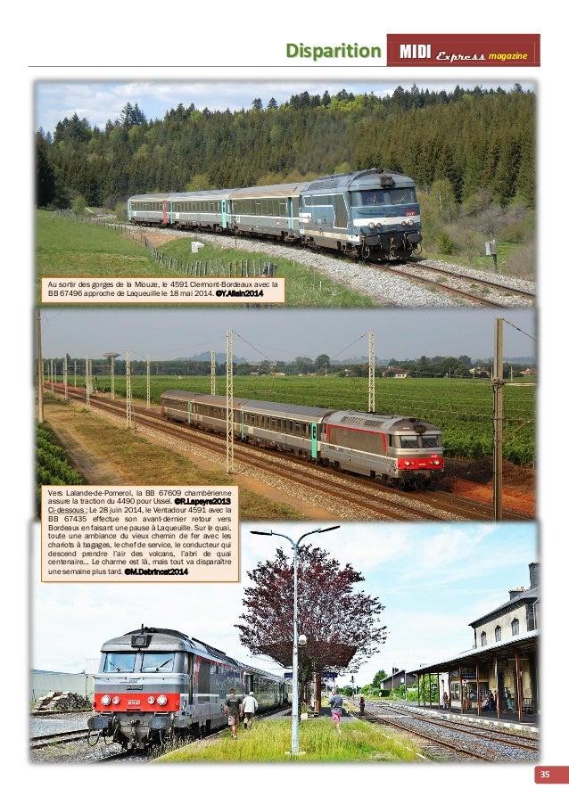 Diispariittiion MMI IIDDI II EEx xxp ppr rre ees sss ss magazine  35  Au sortir des gorges de la Miouze, le 4591 Clermont-...