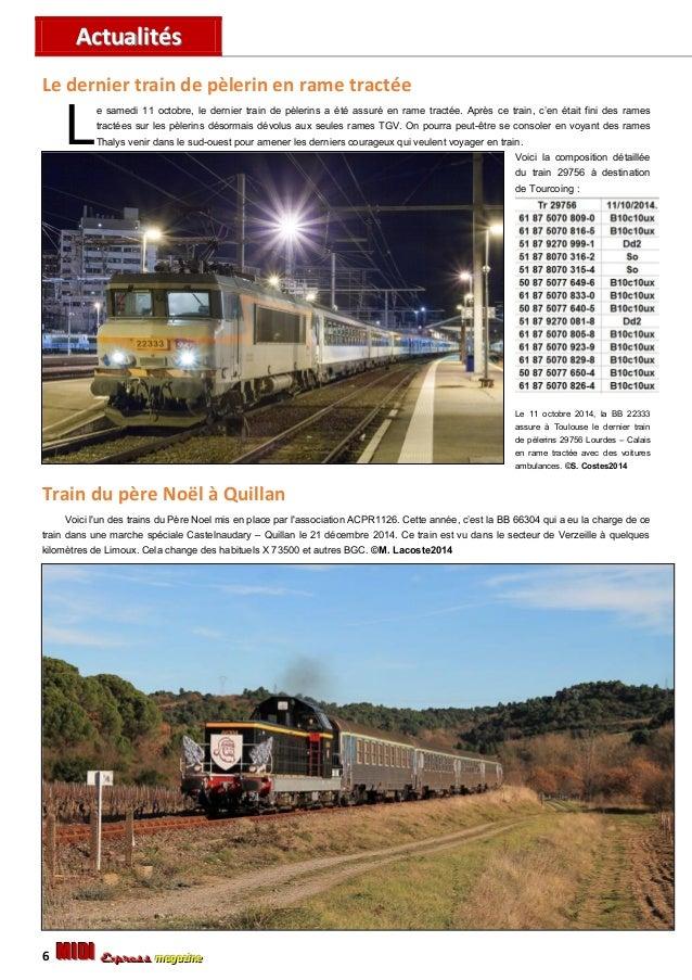 AAccttuuaalliittééss MMMIIIDDDIII EEExxxppprrreeessssss mmmaaagggaaazzziiinnneee 7 Train spécial pour Millau e 18 octobre ...