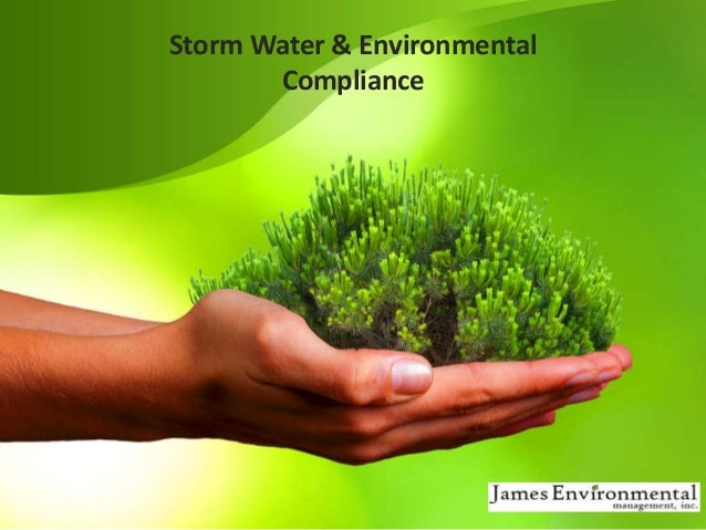 Storm Water & Environmental Compliance